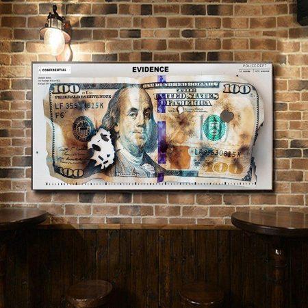 Burning Dollar Bill - DrunkArtist