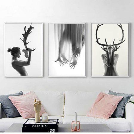 Antlers Woman - DrunkArtist