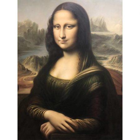 Hand Painted Mona Lisa Copy - DrunkArtist