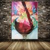 Handpainted Red Grape Wine - DrunkArtist