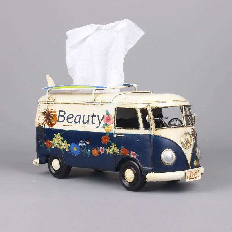 Retro Bus Tissue Box - DrunkArtist