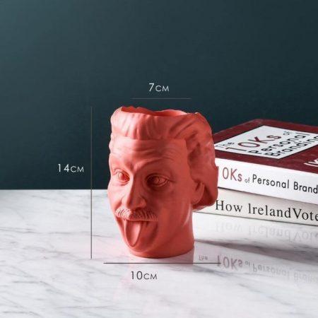 Einstein Resin Vase - DrunkArtist