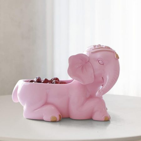 Elephant Resin Storage Box - DrunkArtist