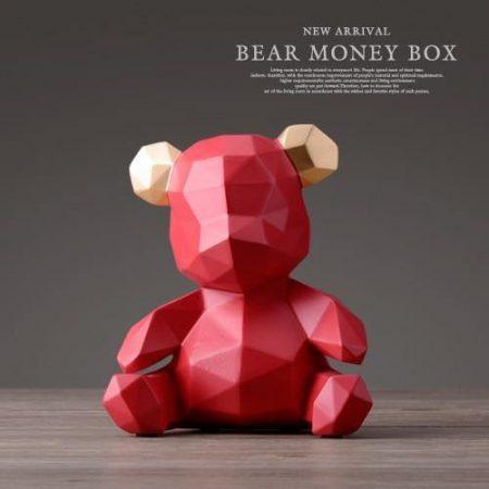 Piggy Bank Teddy Bear - DrunkArtist