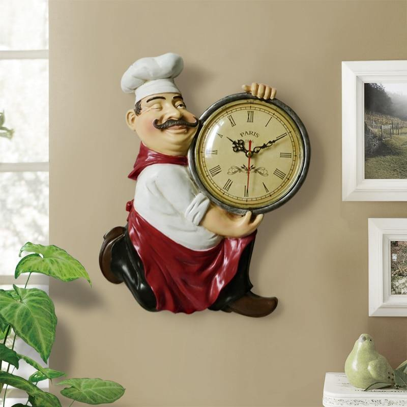 Vintage Rustic Clock - DrunkArtist