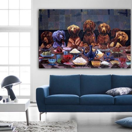 Dogs Last Supper - DrunkArtist