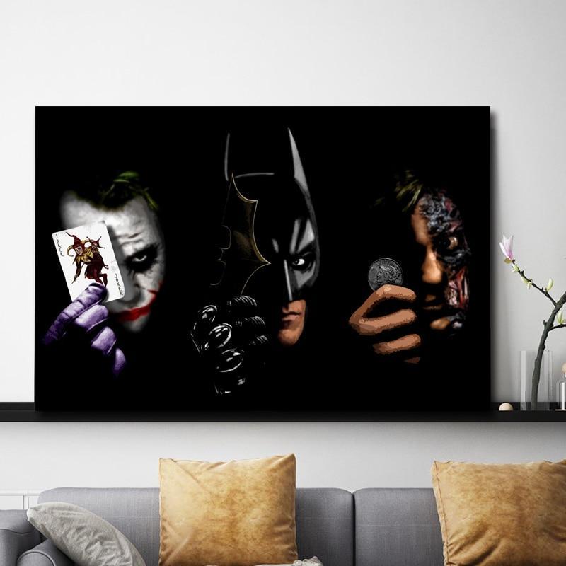 The Joker Batman Two-face - DrunkArtist