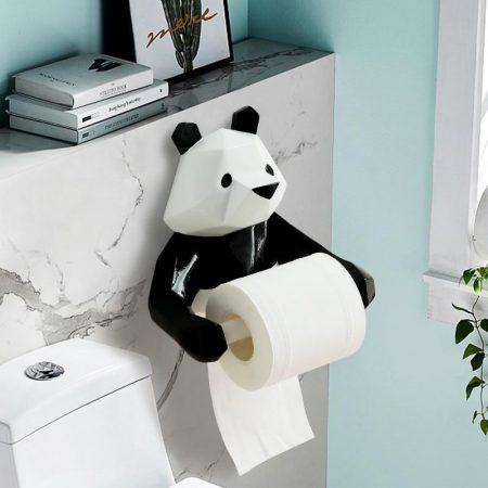 Panda Tissue Holder - DrunkArtist