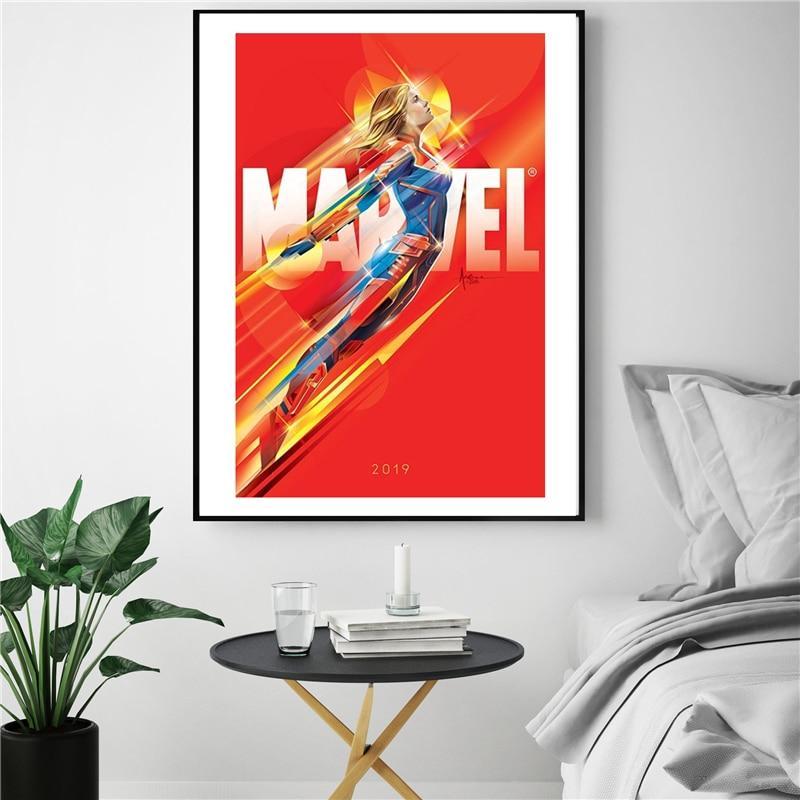 Superhero Captain Marvel - DrunkArtist