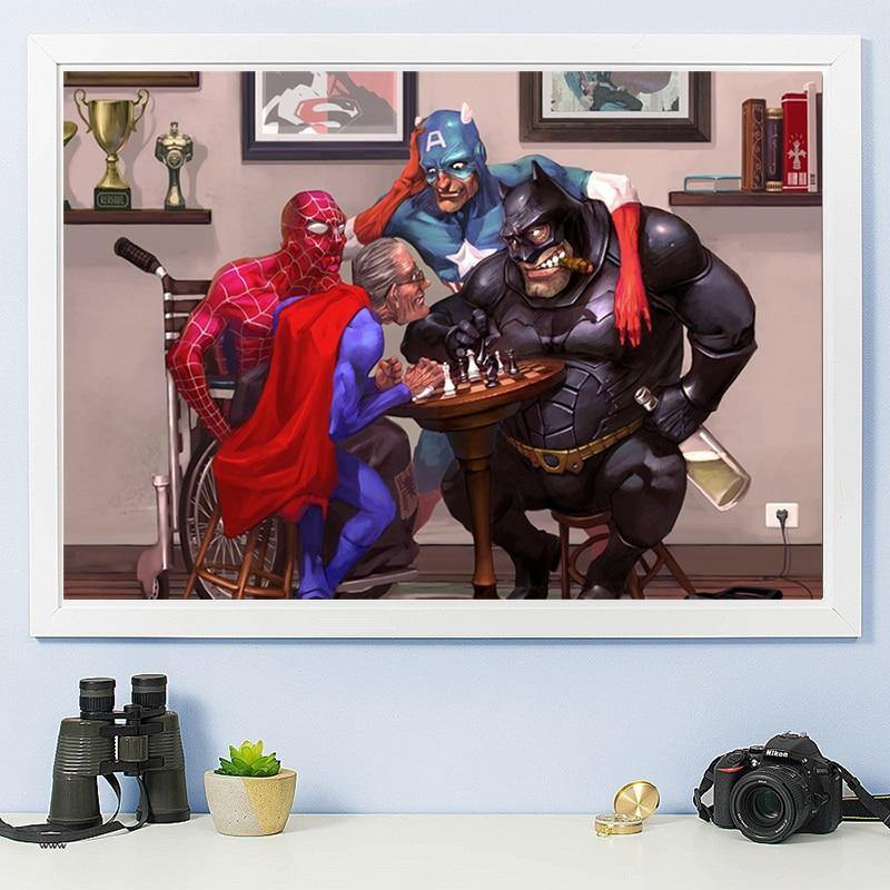 Batman vs Superman - DrunkArtist