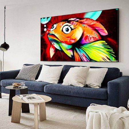 Cartoon Fish - DrunkArtist
