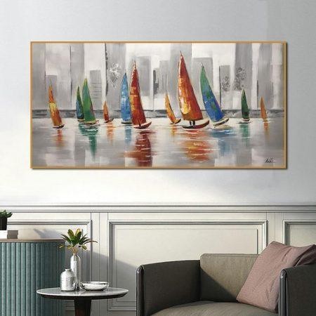Canvas Boat - DrunkArtist