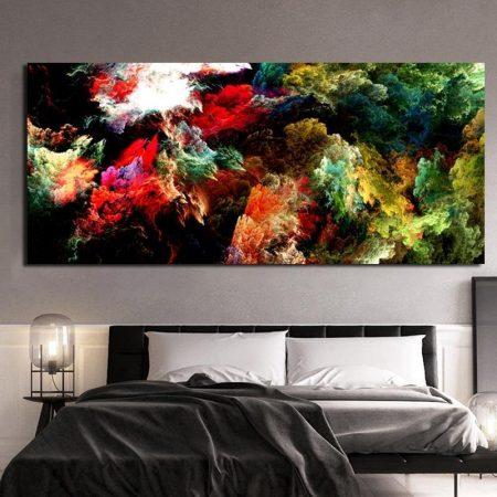 Colorful Nebula Cloud - DrunkArtist