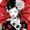 Yin-Yang Geisha - DrunkArtist