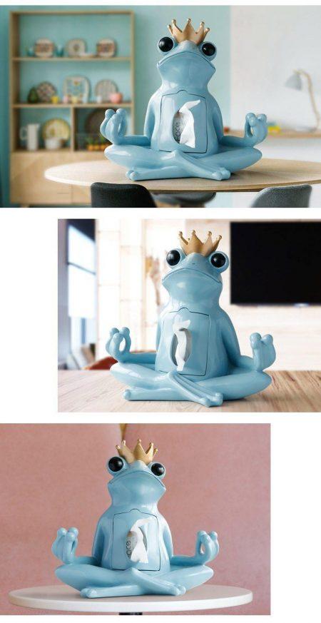Frog Tissue Box Holder - DrunkArtist