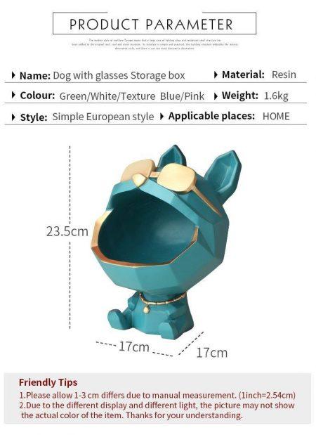 Cool Dog Storage Box - DrunkArtist