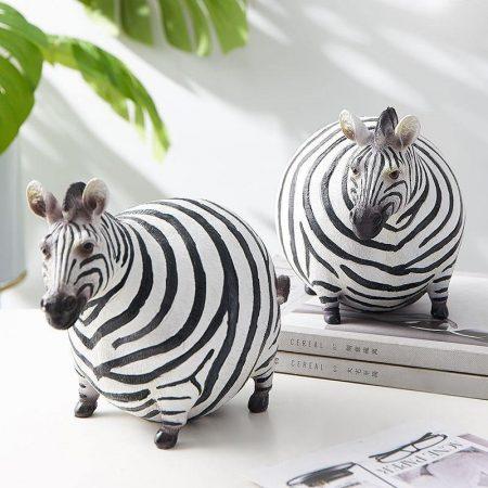Fat Zebra Statue - DrunkArtist