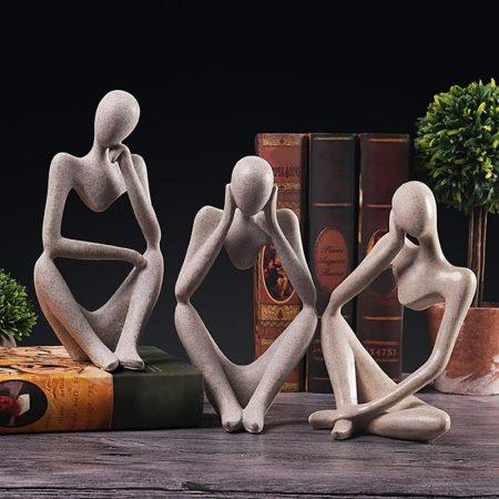 Thinker Resin Statue - DrunkArtist