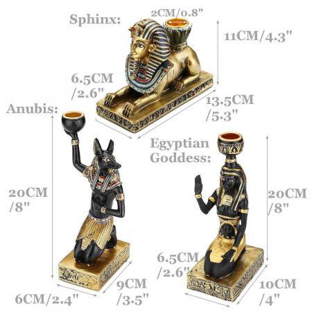 Egyptian Candle Holders - DrunkArtist