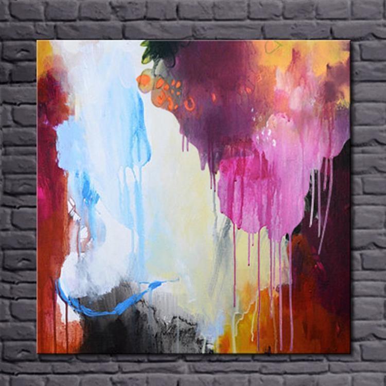 Handpainted Abstract Color Art - DrunkArtist