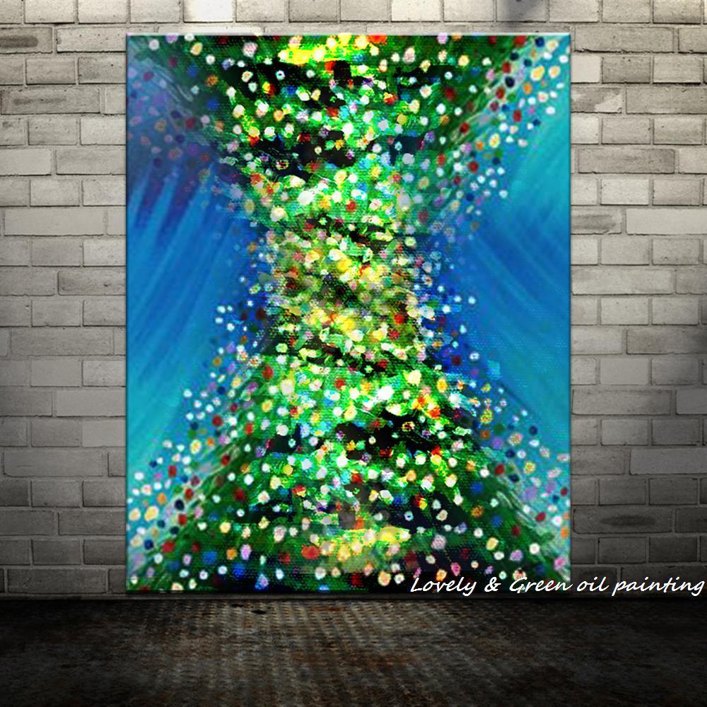 Handpainted Abstract Tree Demon - DrunkArtist