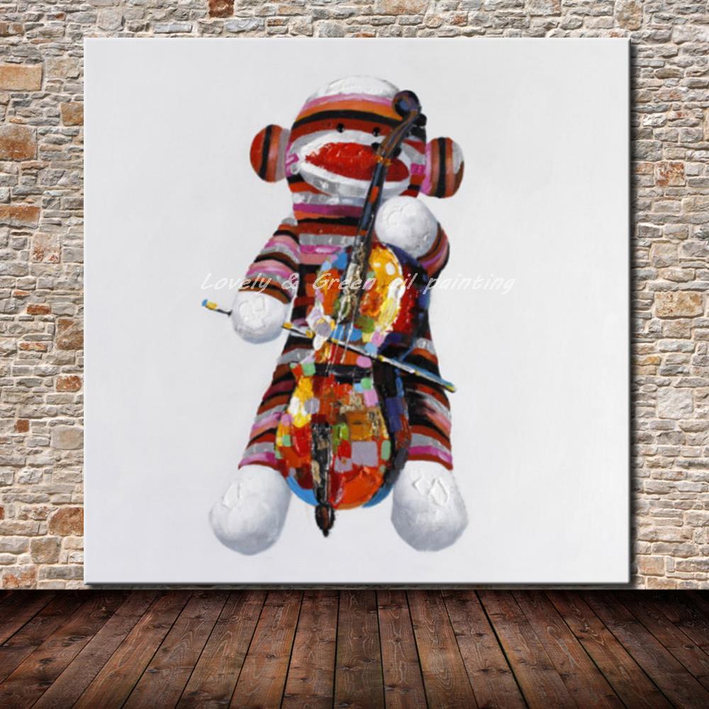 Marionette Playing Violin- DrunkArtist