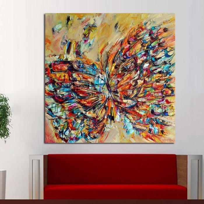 Handpainted Butterfly Effect - DrunkArtist