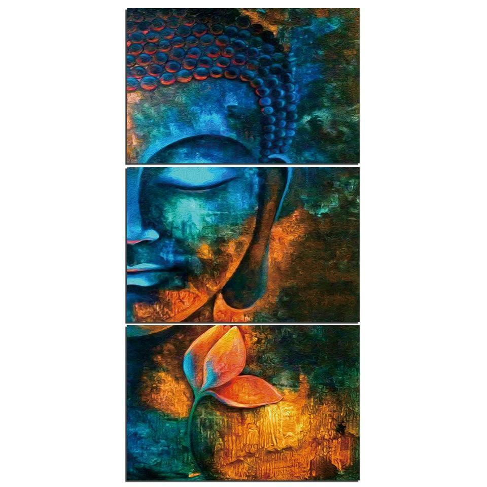 Meditating Buddha - DrunkArtist