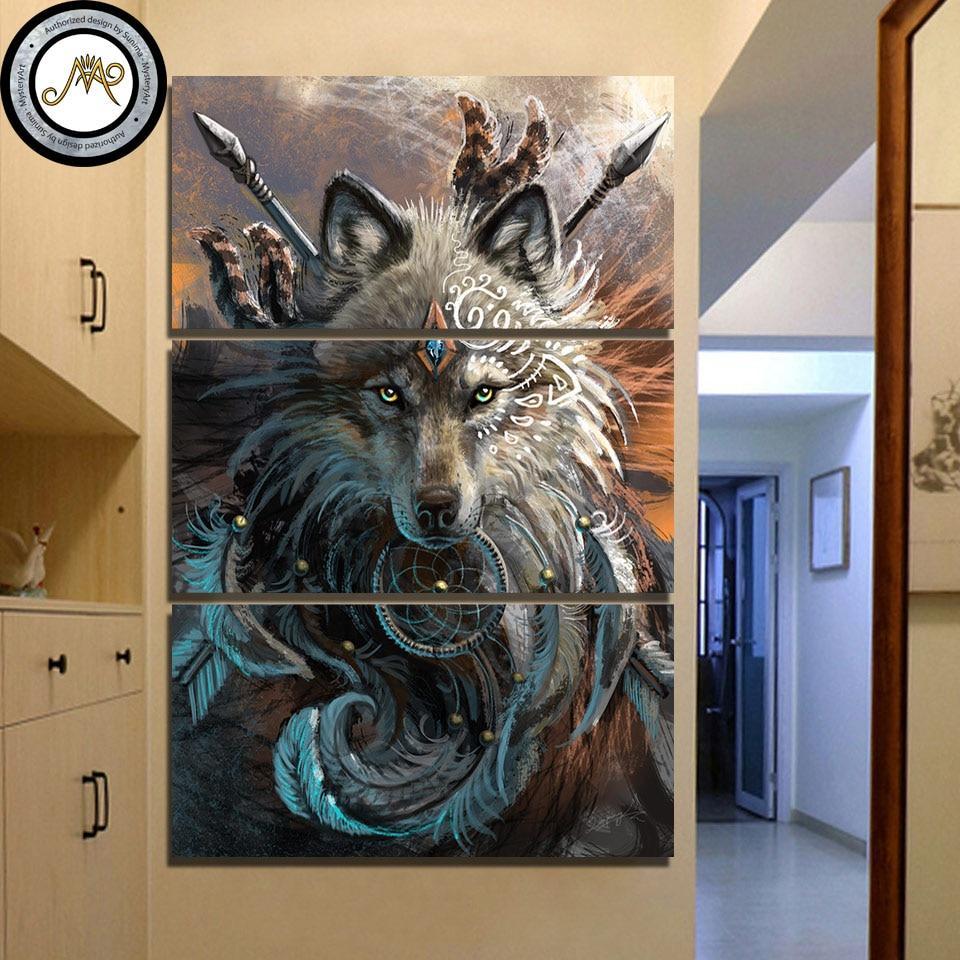 Wolf Warrior - DrunkArtist