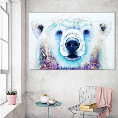 White Snow Bear - DrunkArtist
