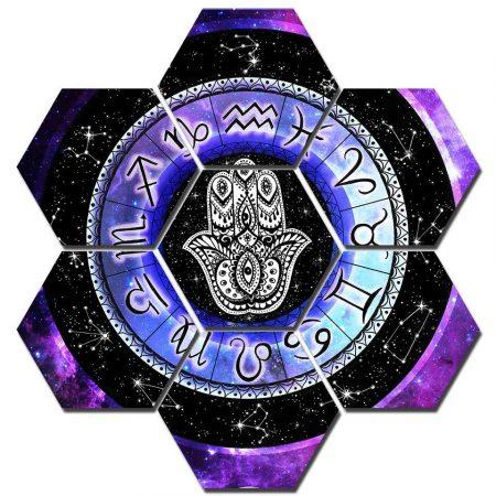 Zodiac Signs Hexagonal Set - DrunkArtist