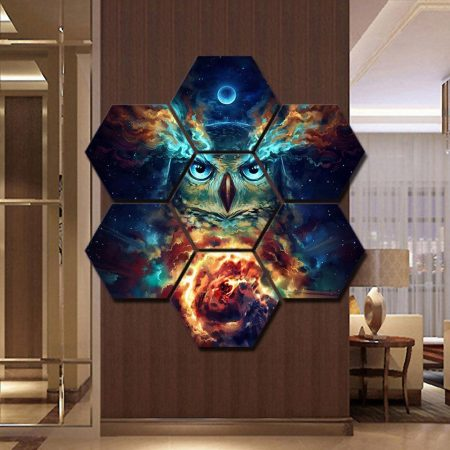 Nebowla Hexagonal Canvas - DrunkArtist
