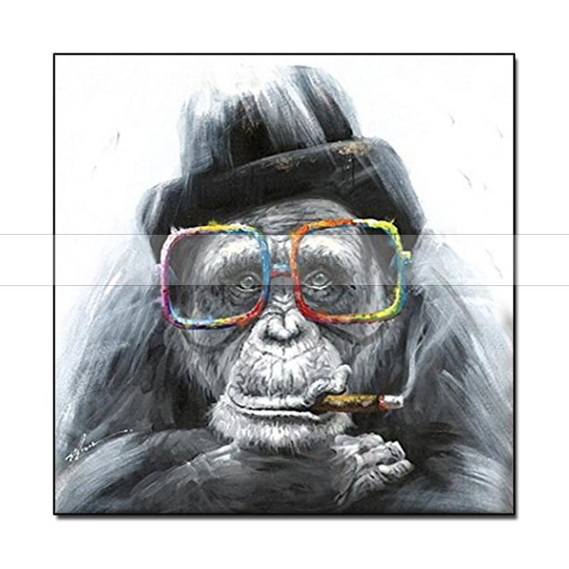 HandPainted Boss Gorilla - DrunkArtist